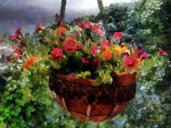 Painting - Summer Picture Window by RC DeWinter