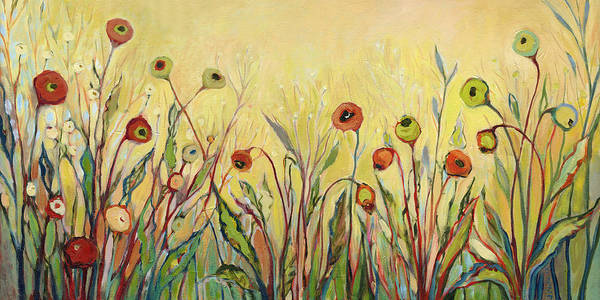 Wall Art - Painting - Summer Poppies by Jennifer Lommers