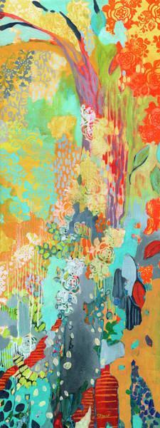 Botanical Painting - Summer Rain Part 3 by Jennifer Lommers