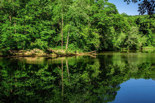 Photograph - Summer Reflections by James L Bartlett