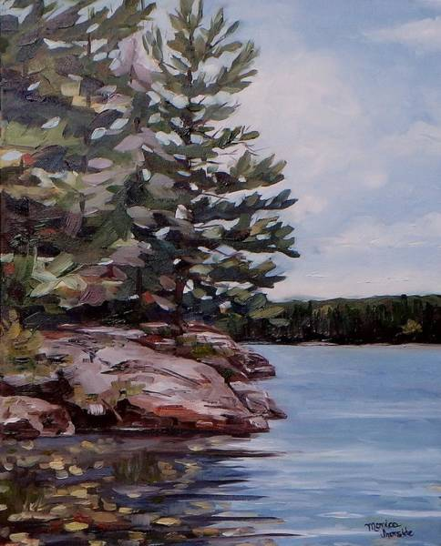 Painting - Summer Reflections by Monica Ironside