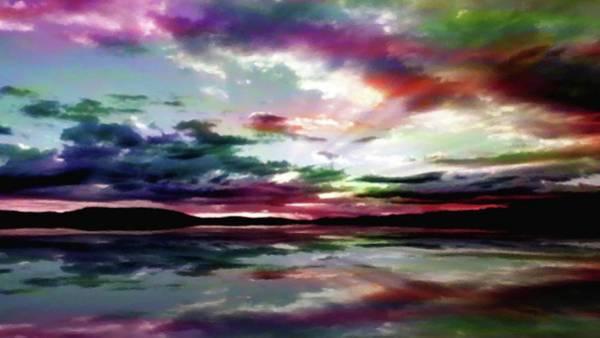 Summer Reflections-pastel Art Print