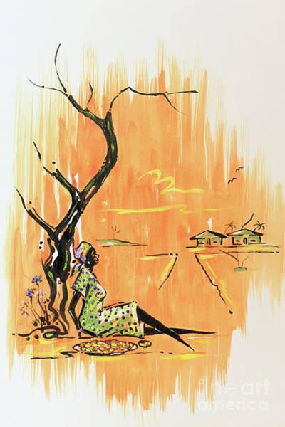 Nigeria Painting - Summer Retreat by John Bernards
