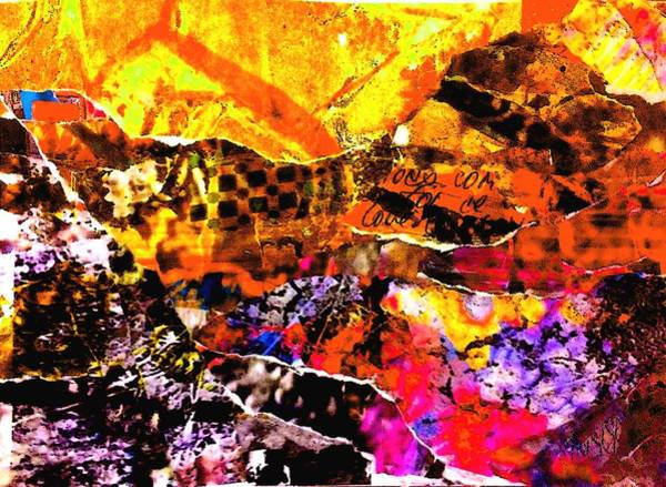 Spring Mountains Mixed Media - Summer Rhapsody by Chava Silverman