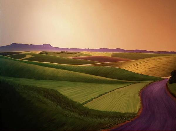 Wall Art - Painting - Summer Road by Leonard Heid