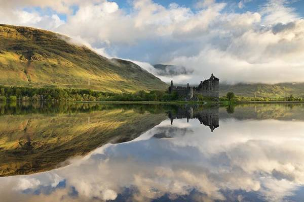 Summer Runrise At Loch Awe Art Print