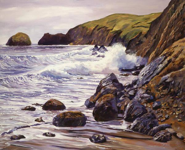 Painting - Summer Sea by David Lloyd Glover