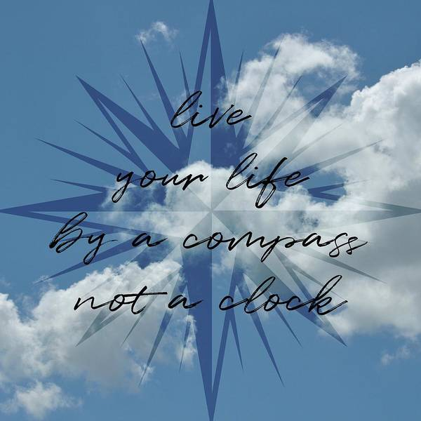 Photograph - Summer Sky Quote by Jamart Photography