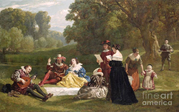 Wall Art - Painting - Summer Song by Frederick Goodall