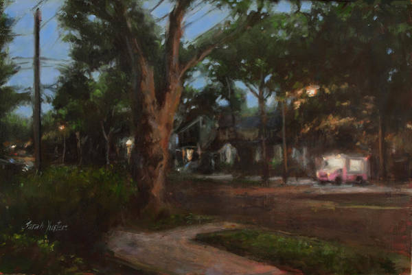 Neighborhood Painting - Summer Song by Sarah Yuster