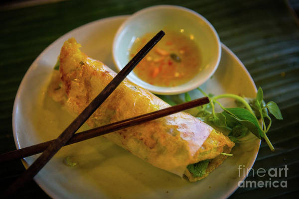 Quang Nam Province Photograph - Summer Spring Roll by Lisa Top