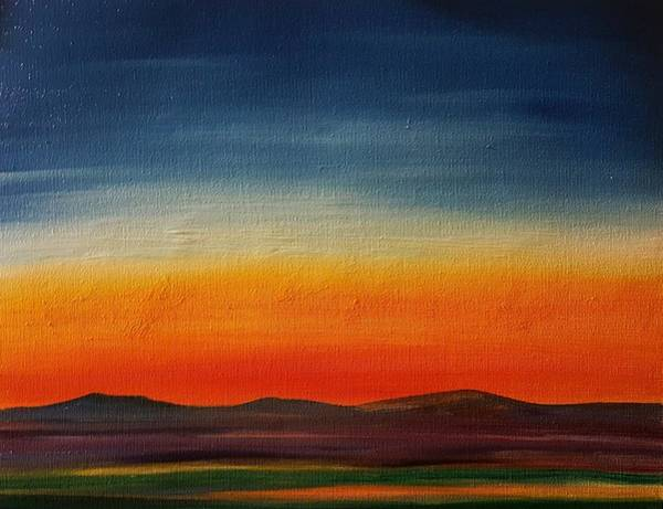 Painting - Summer Stillness In Montana   71 by Cheryl Nancy Ann Gordon