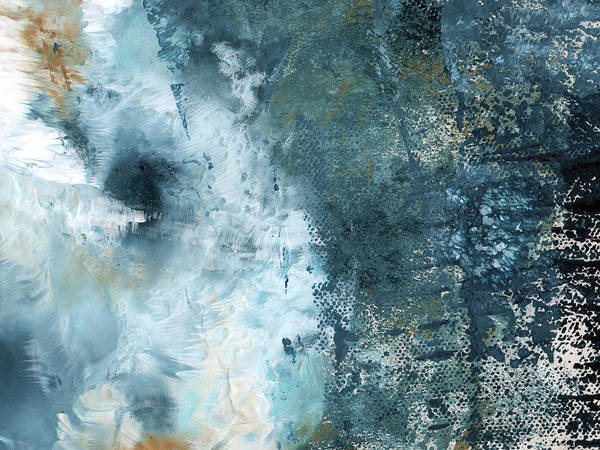 Summer Storm- Abstract Art By Linda Woods Art Print