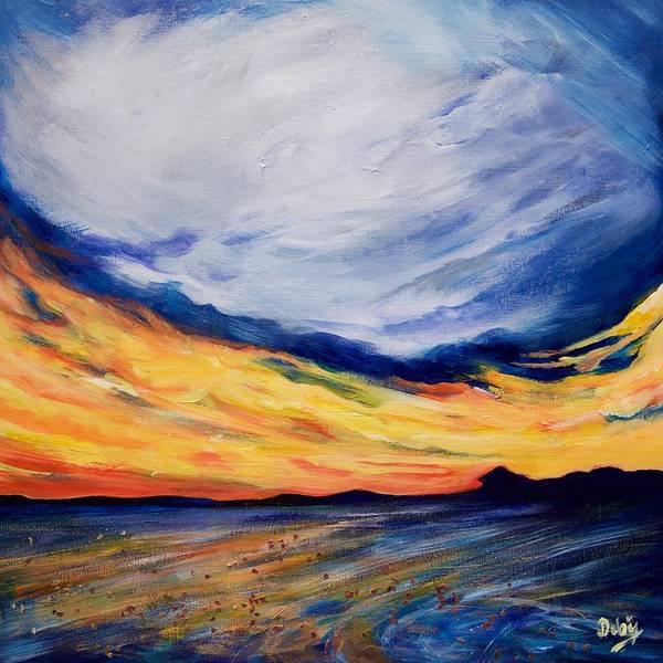 Wall Art - Painting - Summer Storm by Debi Starr