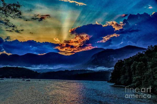 Photograph - Summer Sundown by Buddy Morrison
