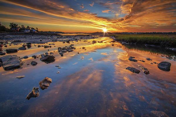 Photograph - Summer Sunrise In Harpswell by Kristen Wilkinson