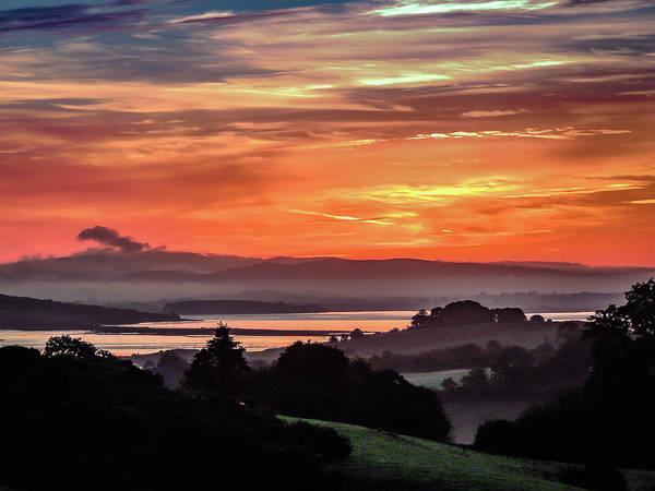 Photograph - Summer Sunrise Of Ireland's River Fergus by James Truett