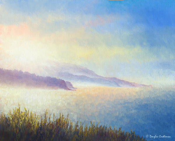 Painting - Summer Sunrise Plein Air by Douglas Castleman