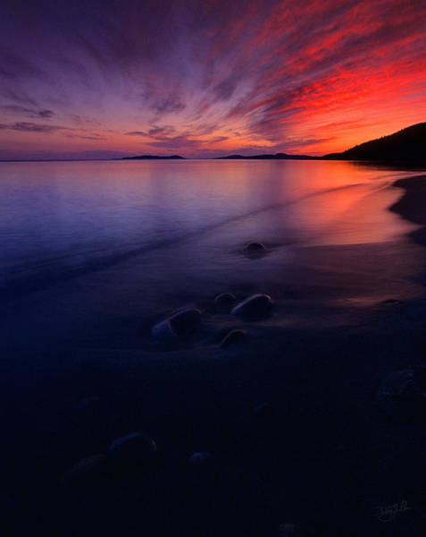Photograph - Summer Sunset       by Doug Gibbons