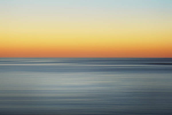 Horizons Photograph - Summer Sunset by Az Jackson