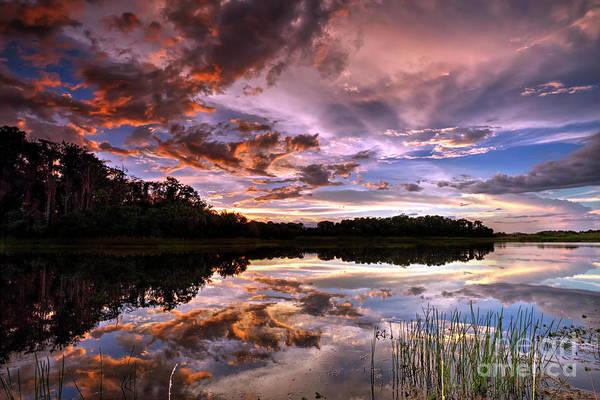 Wall Art - Photograph - Summer Sunset Clouds by Rick Mann