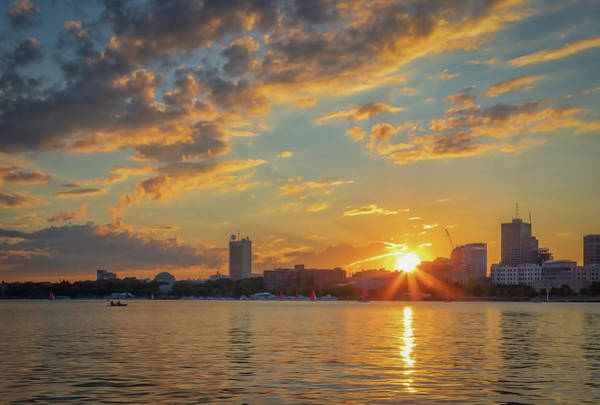 Photograph - Summer Sunset Over Cambridge by Kristen Wilkinson