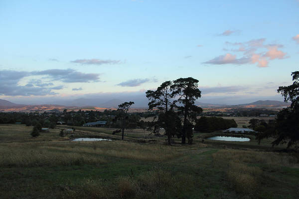 Photograph - Summer Sunset Over Yarra Valley 26-01-2015 by Bert Ernie