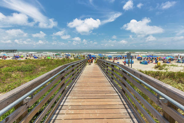 Photograph - Summer Time And The Living Is Easy - Isle Of Palms, Sc by Donnie Whitaker