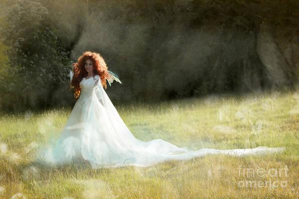 Wall Art - Photograph - Summer Time Fairy by Angel Ciesniarska