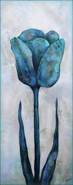 Wall Art - Painting - Summer Tulip II by Shadia Derbyshire