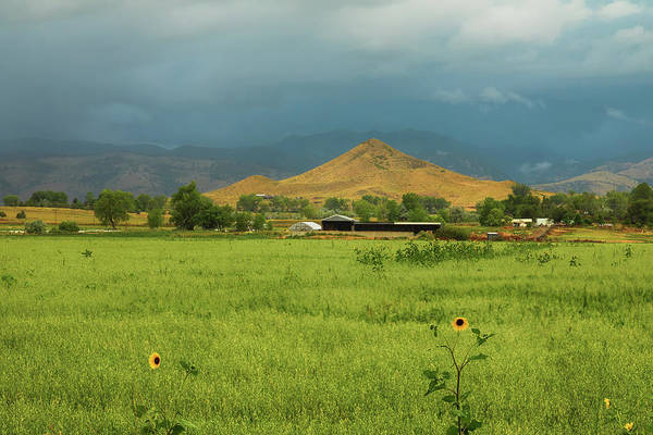 Photograph - Summer View Of  Hay Stack Mountain by James BO Insogna