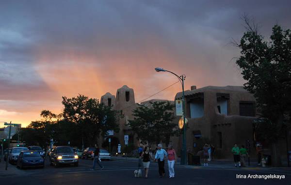 Photograph - Summer Walk In Santa Fe  by Irina ArchAngelSkaya