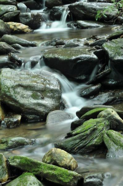 Waitsfield Photograph - Summer Waterfall by Jennifer Bongiorno