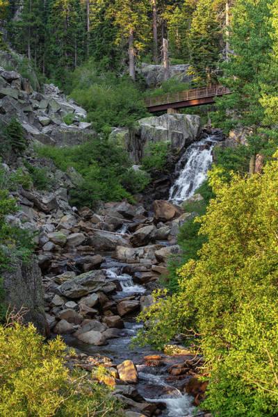 Photograph - Summer Waterfall by Jonathan Hansen