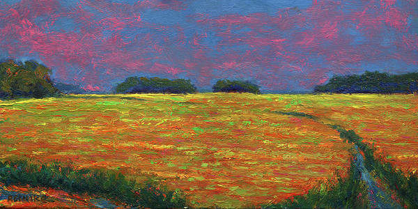 Painting - Summer Wetlands by Vernon Reinike