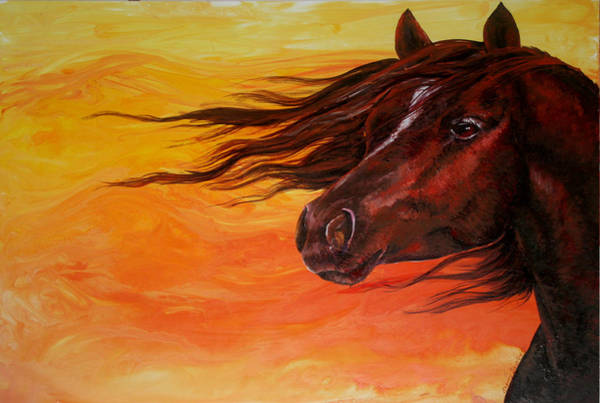 Painting - Summer Wind by Sherry Shipley