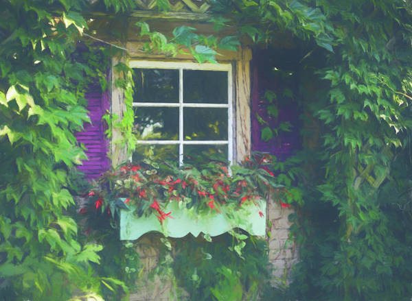 Painting - Summer Window by Dan Sproul