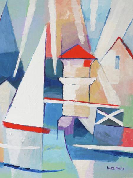Painting - Summercoast Painting by Lutz Baar