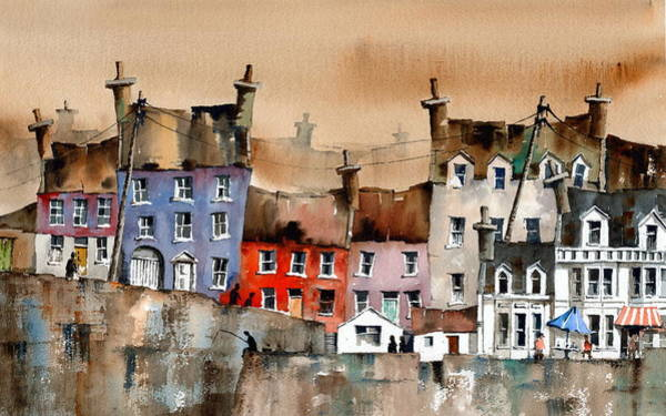 Painting - Cork... Summercove, Kinsale. by Val Byrne