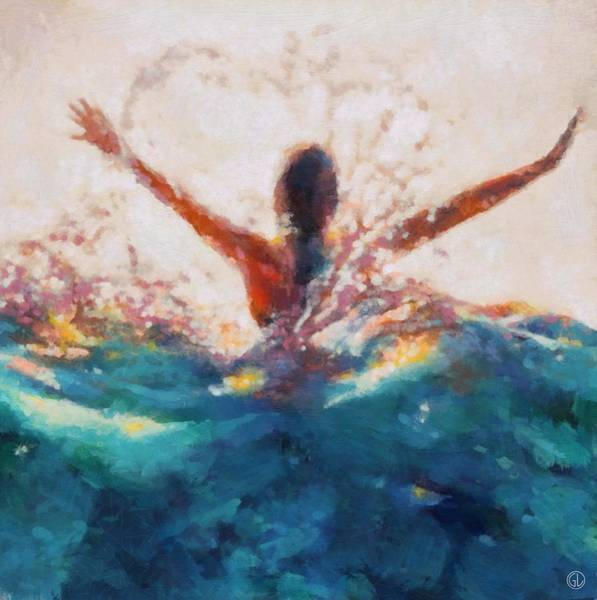 Wall Art - Digital Art - Summers Delight by Gun Legler