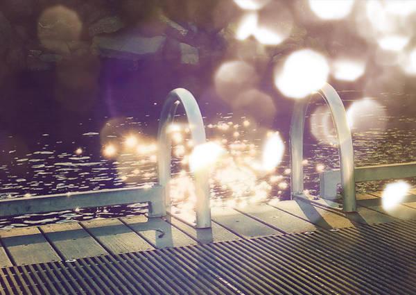 Bokeh Digital Art - Summer's End by Tonya Doughty