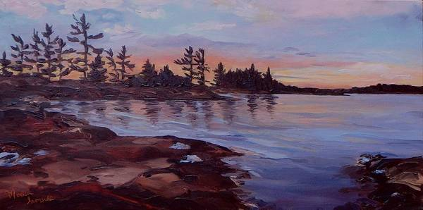 Painting - Summers Eve by Monica Ironside