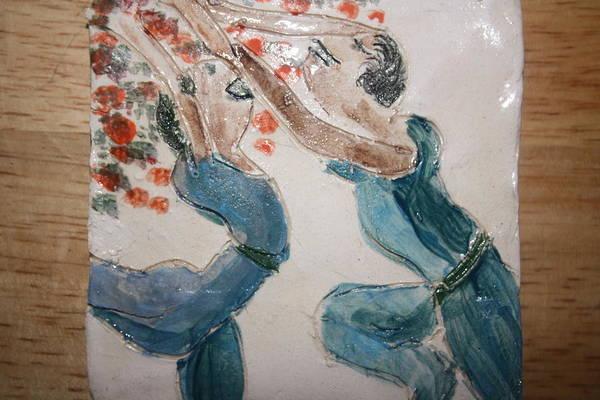 Ceramic Art - Summersday - Tile by Gloria Ssali