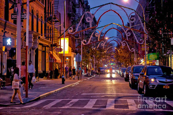 Wall Art - Photograph - Summertime In Little Italy Nyc by DAC Photo