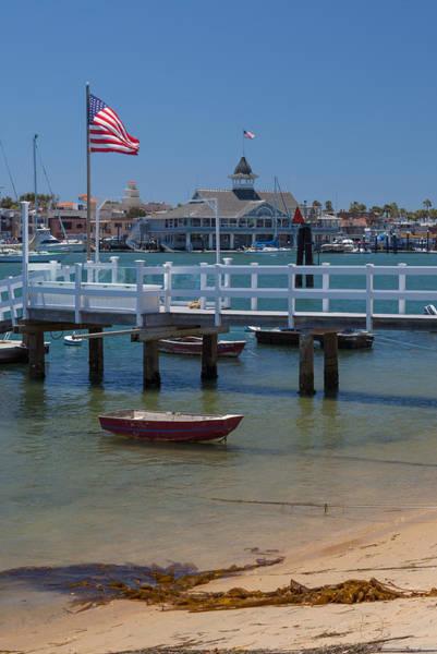 Summertime In  Newport Beach Harbor Art Print