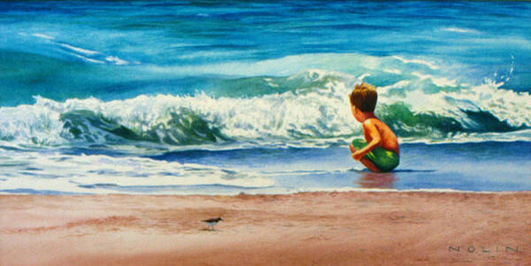Painting - Summertime Pals by Bob Nolin