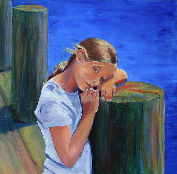 Summertime Sara Art Print