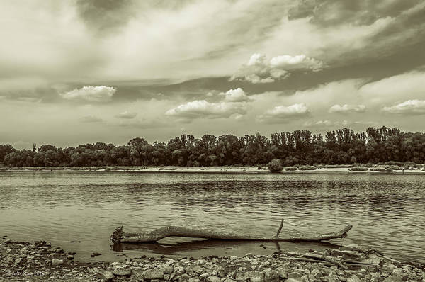 Photograph - Summertime Vistula River In Warsaw by Julis Simo