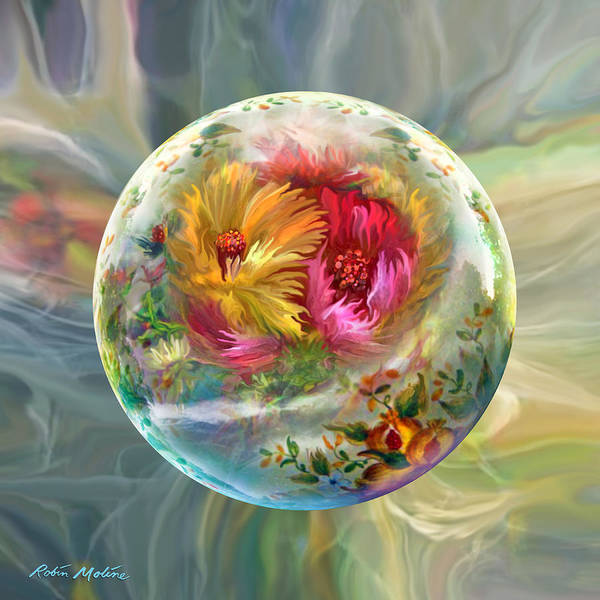Wall Art - Digital Art - Summer Daydream by Robin Moline