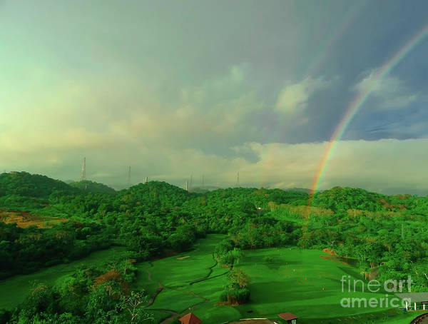 Photograph - Summit Golf The End Of The Rainbow by Camille Pascoe